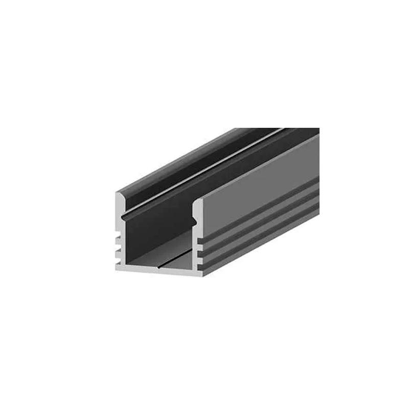 Накладной алюминиевый профиль LC-LPV 16*12