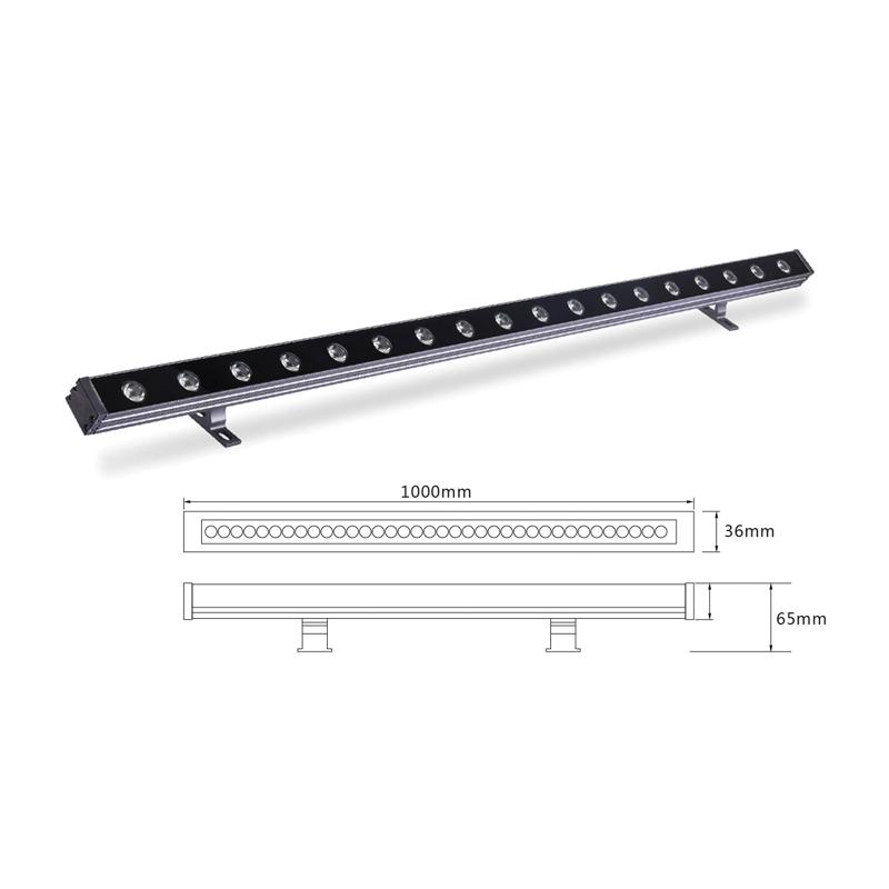 Архитектурный линейный LED светильник el-LS-XQ-1007