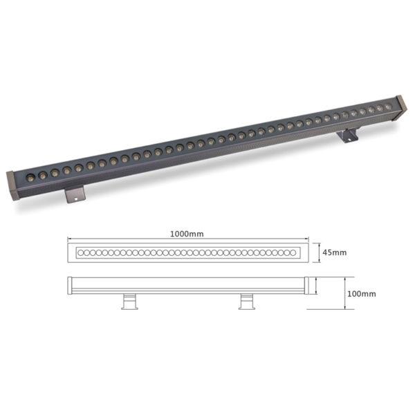 Архитектурный линейный светильник el-LS-XQ-1003
