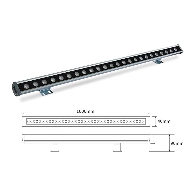Архитектурный линейный светильник светодиодный el-LS-XQ-1003