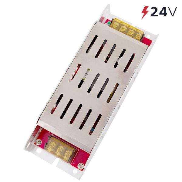 Блок питания 250 Вт 24V (IP20) узкий Eleganz
