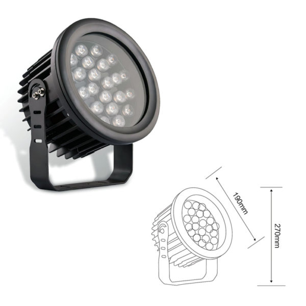 Прожектор заливающего света el-LS-TG-3012