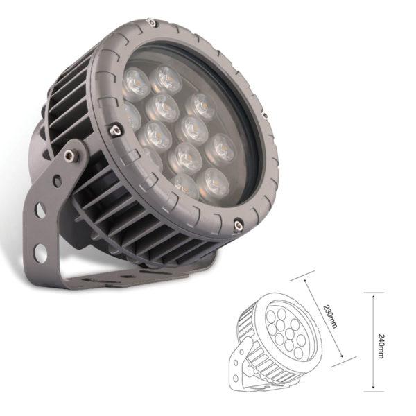 Прожектор заливающего света el-LS-TG-3017