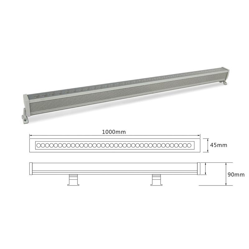 Архитектурный линейный светильник el-LS-XQ-1002
