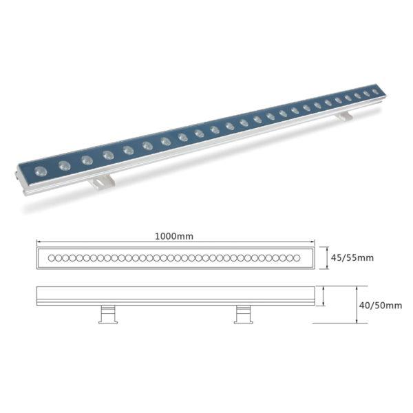 Архитектурный линейный светильник el-LS-XQ-1012