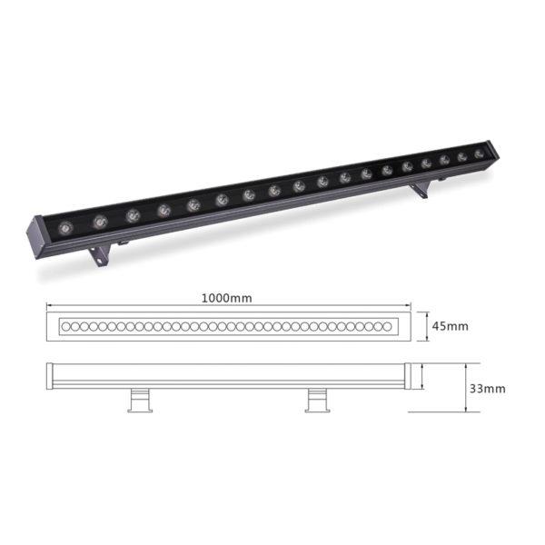 Архитектурный линейный светильник el-LS-XQ-1009