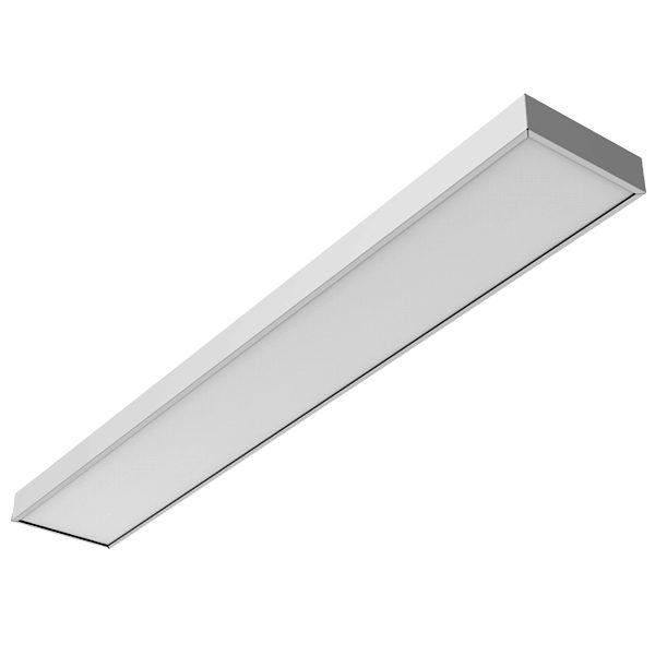 Накладная светодиодная панель 50Вт 1195*295*50мм