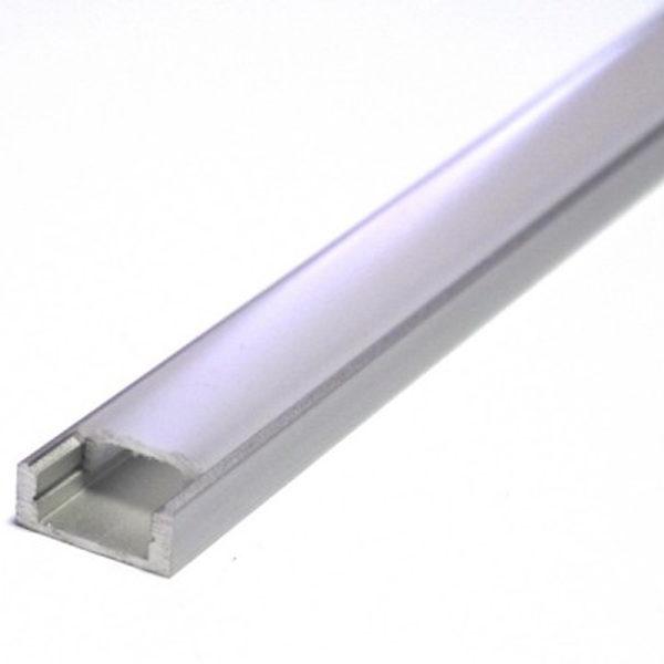 Накладной алюминиевый профиль AN P331 16*7мм
