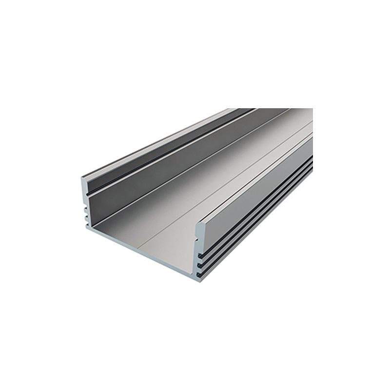 Накладной алюминиевый профиль LC-LPV 28*12