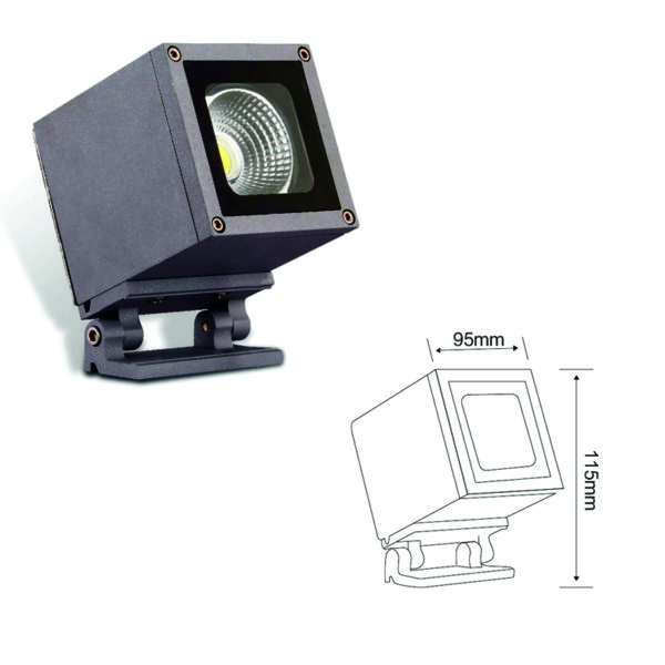 Прожектор направленного света el-LS-XSD-4001