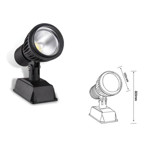 Прожектор заливающего света el-LS-TG-3009