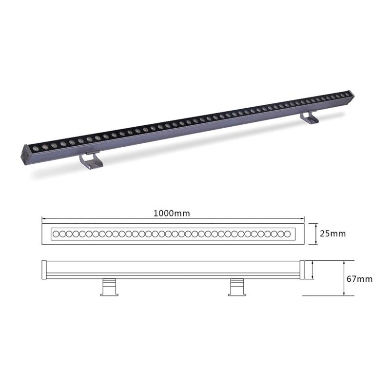 Светильник линейного света светодиодный ELEGANZ el-LS-XTD-2001