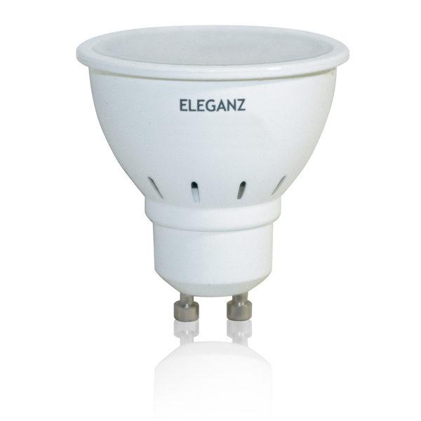 Светодиодная лампа 5Вт GU10 220V термопластик