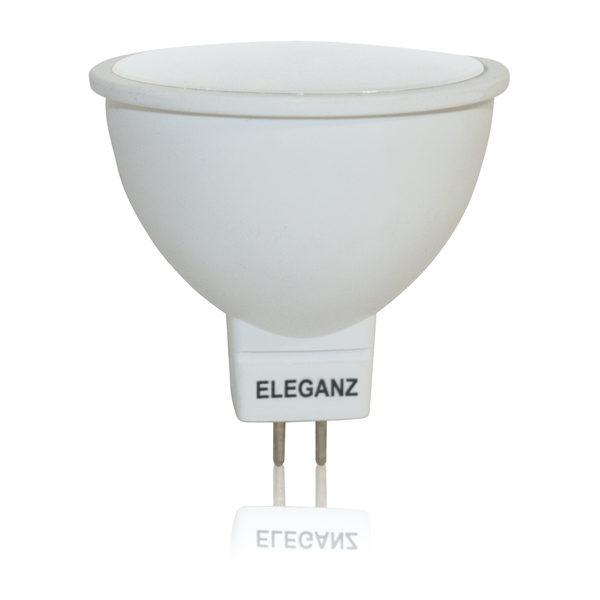 Светодиодная лампа 5Вт GU5.3 220V термопластик