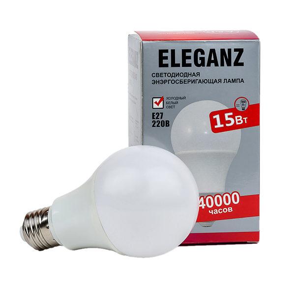 Светодиодная лампа E27 - 15Вт груша Eleganz А60