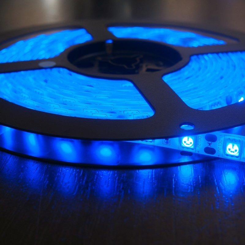 Светодиодная лента 14,4Вт 12В Синяя от ELEGANZ