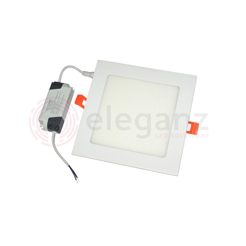 Светодиодная панель встраиваемая квадрат 12 Вт