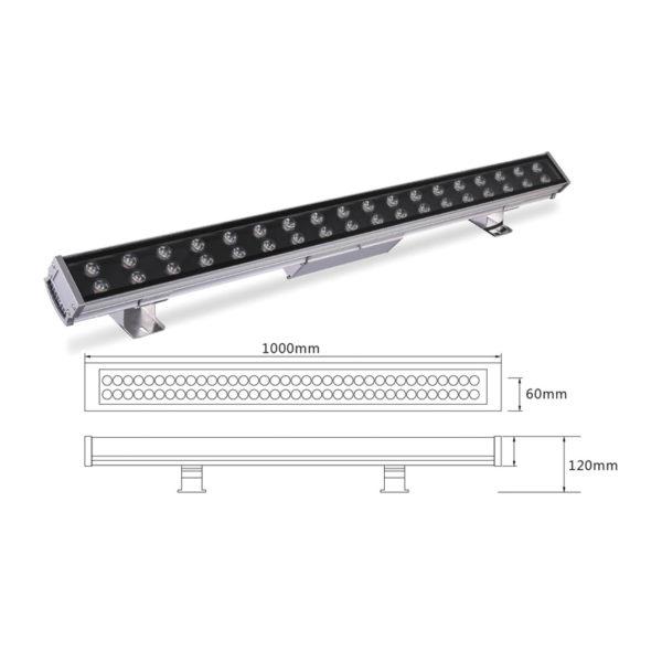 Архитектурный линейный светильник el-LS-XQ-1011
