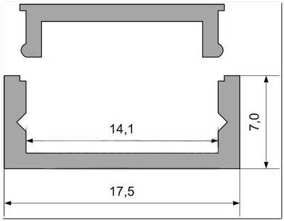 Заглушка для профиля AN-P331